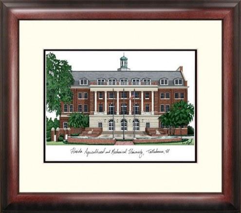 Florida A&M Rattlers Alumnus Framed Lithograph