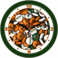 Florida A&M Rattlers Candy Wall Clock