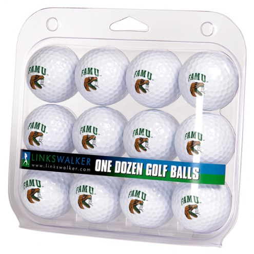 Florida A&M Rattlers Dozen Golf Balls