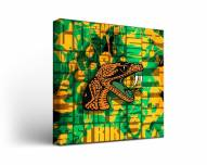 Florida A&M Rattlers Fight Song Canvas Wall Art