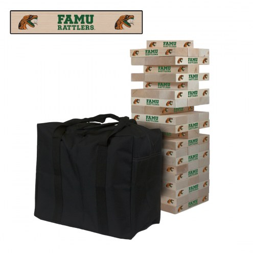 Florida A&M Rattlers Giant Wooden Tumble Tower Game