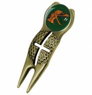 Florida A&M Rattlers Gold Crosshairs Divot Tool