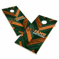 Florida A&M Rattlers Herringbone Cornhole Game Set