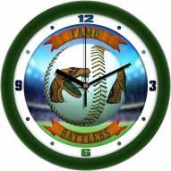 Florida A&M Rattlers Home Run Wall Clock
