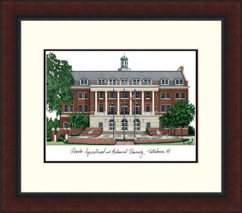 Florida A&M Rattlers Legacy Alumnus Framed Lithograph