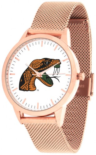Florida A&M Rattlers Rose Mesh Statement Watch