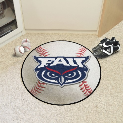 Florida Atlantic Owls Baseball Rug