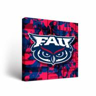 Florida Atlantic Owls Fight Song Canvas Wall Art