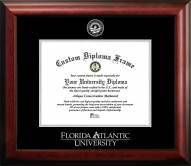 Florida Atlantic Owls Gold Embossed Diploma Frame
