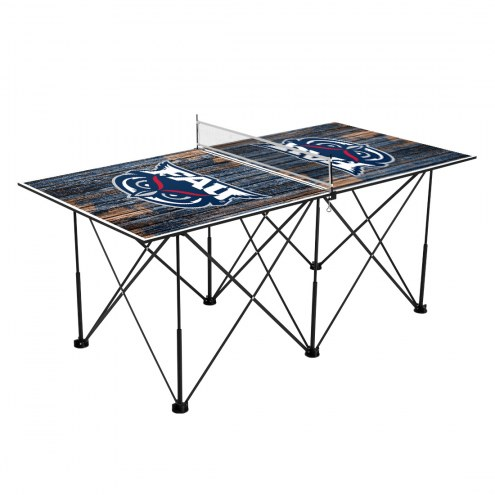 Florida Atlantic Owls Pop Up 6' Ping Pong Table