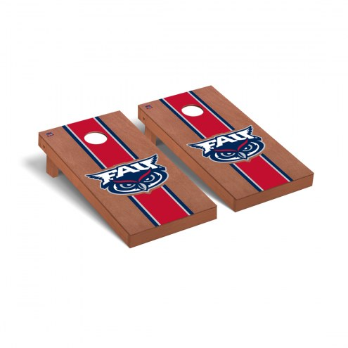 Florida Atlantic Owls Rosewood Stained Cornhole Game Set