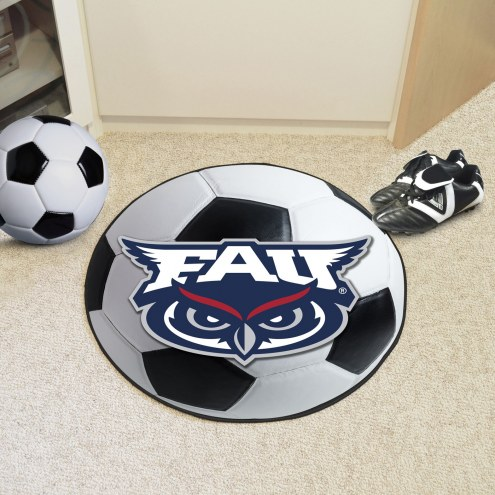 Florida Atlantic Owls Soccer Ball Mat