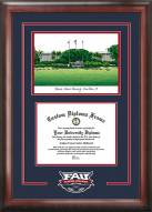 Florida Atlantic Owls Spirit Diploma Frame with Campus Image