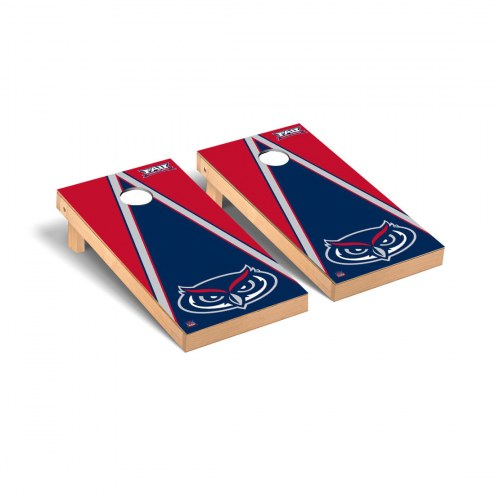 Florida Atlantic Owls Triangle Cornhole Game Set
