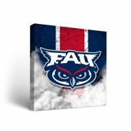 Florida Atlantic Owls Vintage Canvas Wall Art