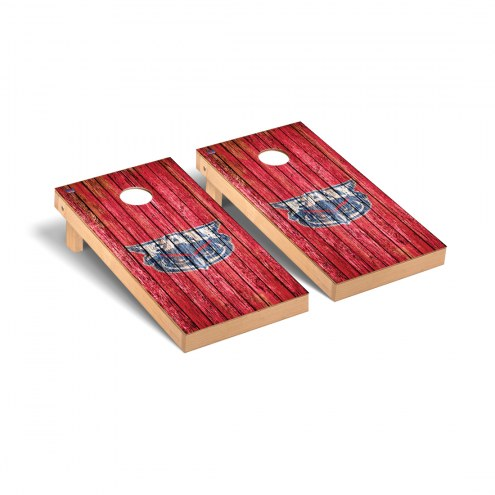 Florida Atlantic Owls Weathered Cornhole Game Set
