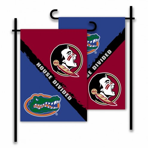 Florida/Florida State House Divided Garden Flag