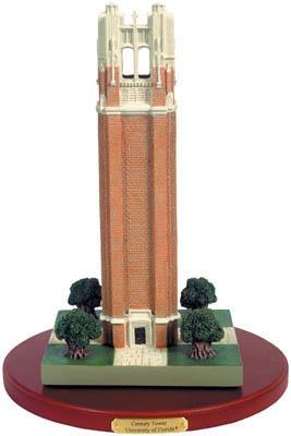 Florida Gatoers Century Tower Figurine
