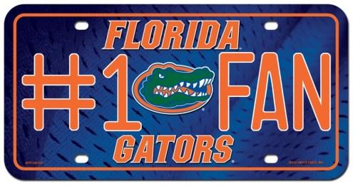 Florida Gators #1 Fan License Plate