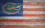 "Florida Gators 11"" x 19"" Distressed Flag Sign"
