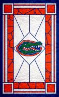 """Florida Gators 11"""" x 19"""" Stained Glass Sign"""
