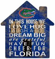 "Florida Gators 12"" House Sign"