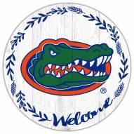 "Florida Gators 12"" Welcome Circle Sign"