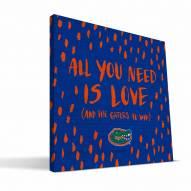 "Florida Gators 12"" x 12"" All You Need Canvas Print"