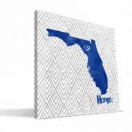"""Florida Gators 12"""" x 12"""" Home Canvas Print"""