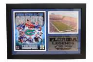 "Florida Gators 12"" x 18"" Greats Photo Stat Frame"