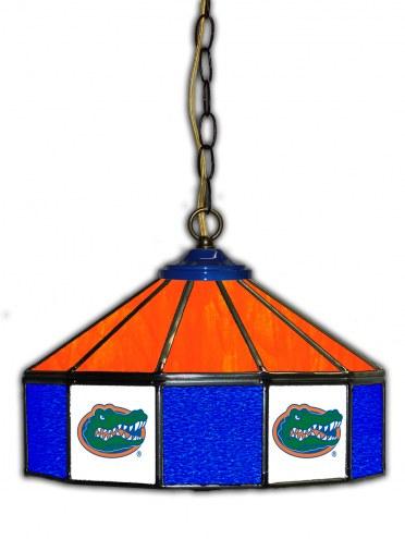 """Florida Gators 14"""" Glass Pub Lamp"""
