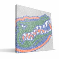 "Florida Gators 16"" x 16"" Typo Canvas Print"