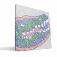 "Florida Gators 16"" x 16"" Typo Canvas Print"