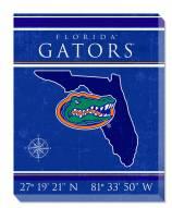 """Florida Gators 16"""" x 20"""" Coordinates Canvas Print"""