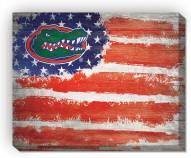 "Florida Gators 16"" x 20"" Flag Canvas Print"