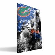 "Florida Gators 16"" x 24"" Spirit Canvas Print"