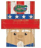 """Florida Gators 19"""" x 16"""" Patriotic Head"""
