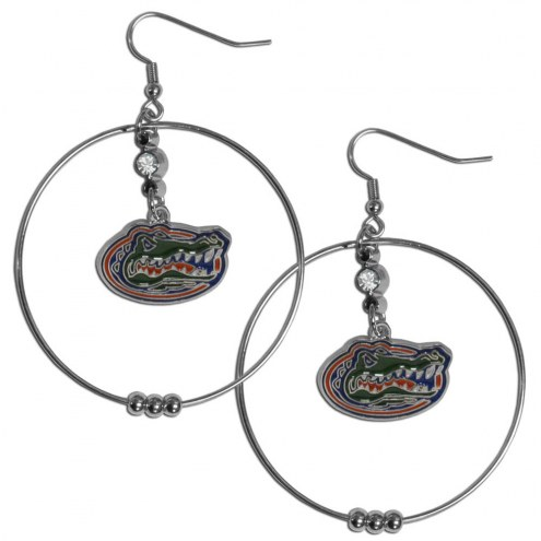 "Florida Gators 2"" Hoop Earrings"