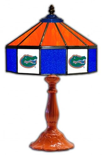 "Florida Gators 21"" Glass Table Lamp"