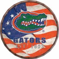 """Florida Gators 24"""" Flag Barrel Top"""
