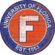 "Florida Gators 24"" Heritage Logo Round Sign"