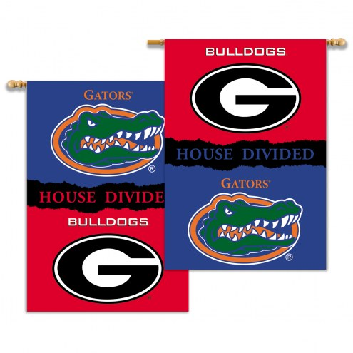 "Florida Gators 28"" x 40"" House Divided Banner"