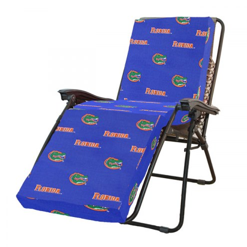 Florida Gators 3 Piece Chaise Lounge Chair Cushion