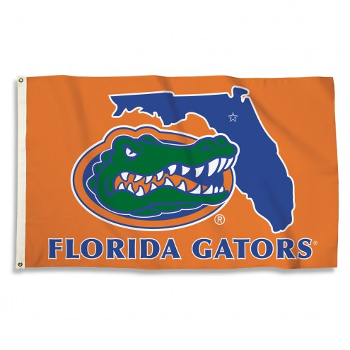 Florida Gators 3' x 5' State Outline Flag