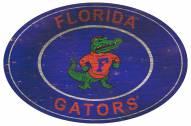 "Florida Gators 46"" Heritage Logo Oval Sign"