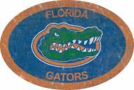 "Florida Gators 46"" Team Color Oval Sign"