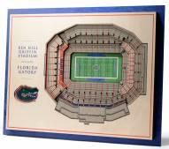 Florida Gators 5-Layer StadiumViews 3D Wall Art