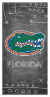 "Florida Gators 6"" x 12"" Chalk Playbook Sign"