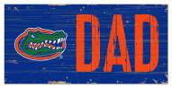 "Florida Gators 6"" x 12"" Dad Sign"