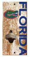 "Florida Gators 6"" x 12"" Distressed Bottle Opener"